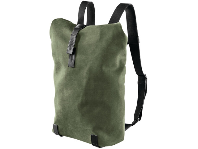 Brooks Pickwick Canvas Rucksack Small 12l forest